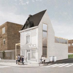 Cohousing De Sijs in Leuven overzicht woningen