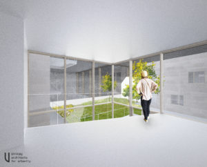 Cohousing De Sijs in Leuven terras