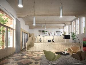Cohousing BotaniCo in Leuven polyvalente ruimte