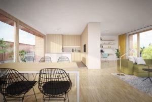 Cohousing BotaniCo in Leuven appartement