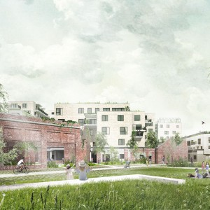 Cohousing Bijgaardehof in Sint-Amandsberg