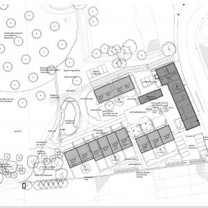 Cohousing Boldershof in Oostende overzicht grondplan