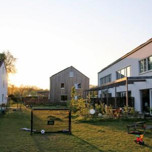 Cohousing Vinderhoute gemeenschappelijke tuin
