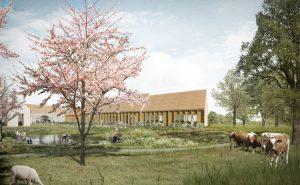 Cohousing Boldershof in Oostende gemeenschappelijke tuin