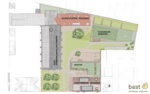 Cohousing Tuin van Padua Gentbrugge grondplan