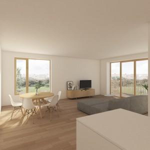 Cohousing Wijg&Co in Leuven woning living