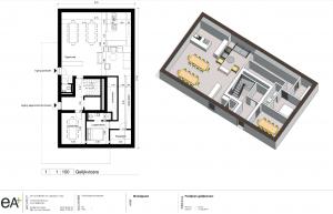 Cohousing Woestgoed in Wondelgem gemeenschappelijk paviljoen
