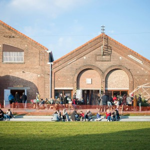 Cohousing 't Wisselspoor in Kessel-Lo sfeerbeeld hallen