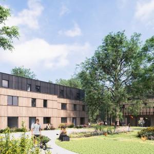 cohousing woestgoed in wondelgem huizen