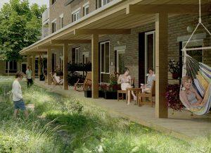 cohousing Gecco porch