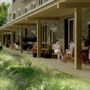 cohousing Gecco porch
