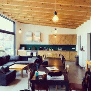 Cohousing Drongen De Nieuwe Wee gemeenschappelijke keuken