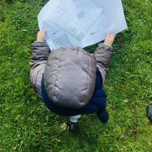Cohousing Burcht in Antwerpen kinderen met plannen