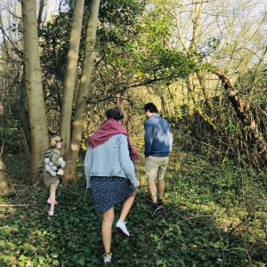 Cohousing Burcht in Antwerpen bewoners in bos