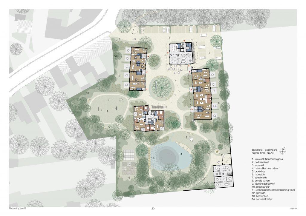 Cohousing Burcht zwijndrecht