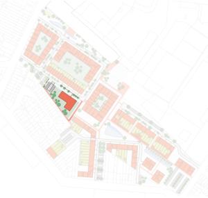 Cohousing Minerve in Edegem overzicht woningen