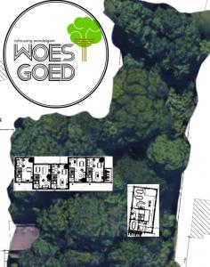 Cohousing Woestgoed in Wondelgem inplanting