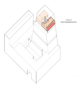 Type woningen in project 't Wisselspoor