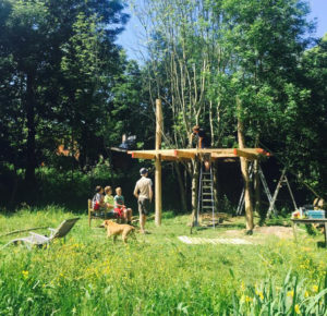 Cohousing Vinderhoute boomhut