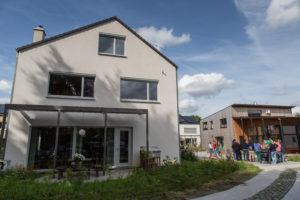 Cohousing Vinderhoute gemeenschappelijk paviljoen