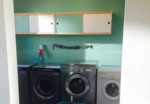 cohousing vinderhoute gemeenschappelijke wasmachines