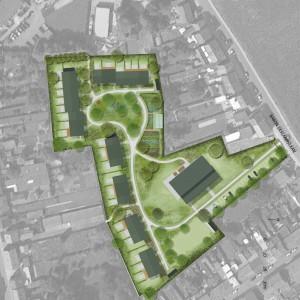 Cohousing Wijg&Co in Leuven overzicht woningen