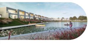 Cohousing Suikerpark in Veurne overzicht woningen
