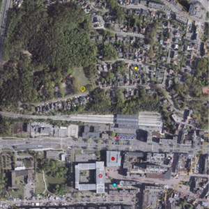 Cohousing Genk ligging op kaart